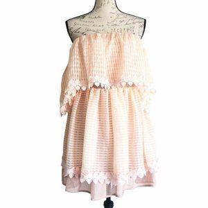 Talulah Powder Pink Beautiful Lie Mini Dress Sz M